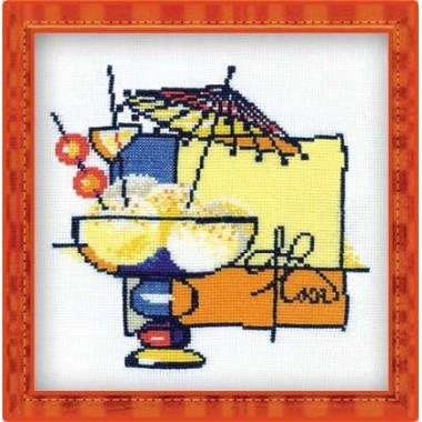 """Набор для вышивки Риолис 975 """"Мороженое"""""""
