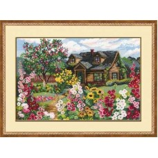 """Набор для вышивки Риолис 978 """"Цветущий сад"""""""