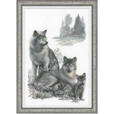 """Набор для вышивки Риолис 100/021 """"Волки"""""""