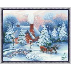 """Набор для вышивки Риолис 100/041 """"Накануне Рождества"""""""