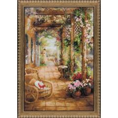 """Набор для вышивки Риолис 100/043 """"Свидание в саду"""""""