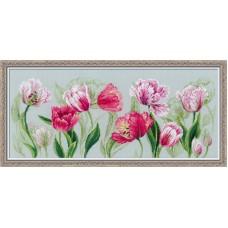 """Набор для вышивания Риолис 100/052 """"Весенние тюльпаны"""""""