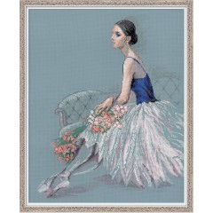 """Набор для вышивки Риолис 100/054 """"Балерина"""""""
