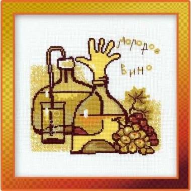 """Набор для вышивки Риолис 1030 """"Молодое вино"""""""