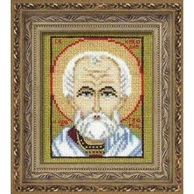 "Набор для вышивки крестом Риолис 1041 ""Св. Николай Чудотворец"""