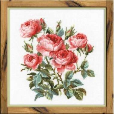 """Набор для вышивки Риолис 1046 """"Садовые розы"""""""