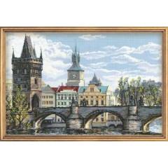 """Набор для вышивки крестом Риолис 1058 """"Прага. Карлов мост"""""""