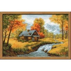 """Набор для вышивки крестом Риолис 1079 """"Осенний пейзаж"""""""