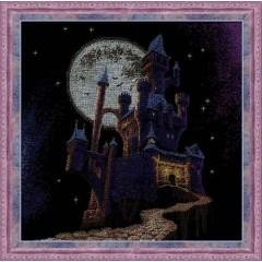 """Набор для вышивки Риолис 1084 """"Ночной замок"""""""