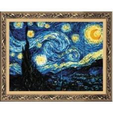 """Набор для вышивки Риолис 1088 """"Ван Гог """"Звёздная ночь"""""""