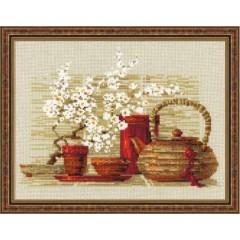 """Набор для вышивки Риолис 1122 """"Чай"""""""