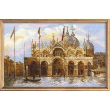 """Набор для вышивки Риолис 1127 """"Венеция. Площадь Сан-Марко"""""""