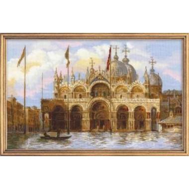 """Набор для вышивки крестом Риолис 1127 """"Венеция. Площадь Сан-Марко"""""""