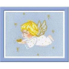 """Набор для вышивки Риолис 1135 """"Ангелочек с сердцем"""""""