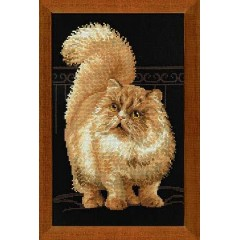 """Набор для вышивки Риолис 1152 """"Персидский кот"""""""