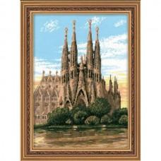 """Набор для вышивания Риолис 1160 """"Барселона. Собор Святого Семейства"""""""