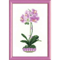 """Набор для вышивки Риолис 1163 """"Сиреневая орхидея"""""""