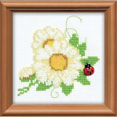 """Набор для вышивки Риолис 1174 """"Цветочек"""""""