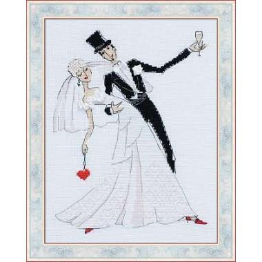 """Набор для вышивки Риолис 1178 """"Свадебный вальс"""""""