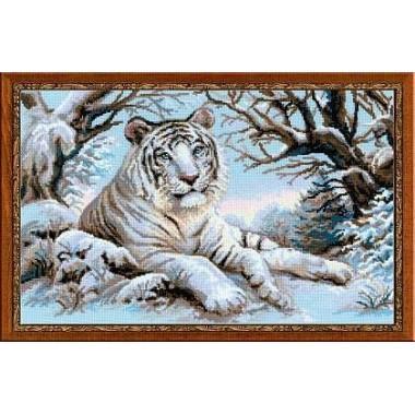 """Набор для вышивки крестом Риолис 1184 """"Бенгальский тигр"""""""
