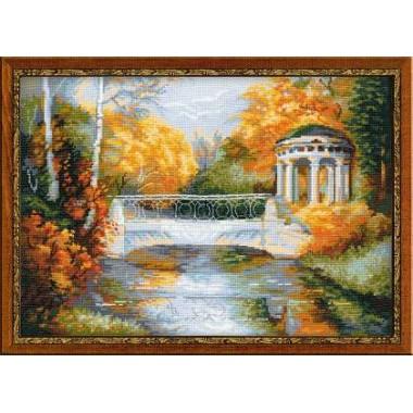 """Набор для вышивки Риолис 1195 """"Осенний парк"""""""