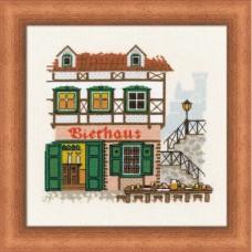 """Набор для вышивания Риолис 1219 """"Bierhaus"""""""