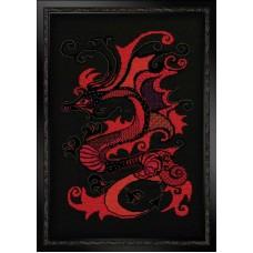 """Набор для вышивки Риолис 1229 """"Красный дракон"""""""