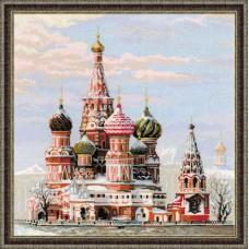 """Набор для вышивки Риолис 1260 """"Москва. Собор Василия Блаженного"""""""