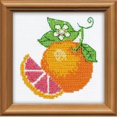 """Набор для вышивки Риолис 1263 """"Апельсин"""""""