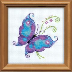 """Набор для вышивки Риолис 1264 """"Чудесная бабочка"""""""