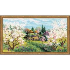 """Набор для вышивки Риолис 1275 """"Яблоневый сад"""""""