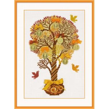 """Набір для вишивки Риолис 1294 """"Грошове дерево"""""""