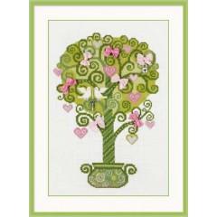"""Набор для вышивки Риолис 1295 """"Дерево счастья"""""""