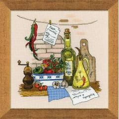 """Набор для вышивки Риолис 1304 """"Натюрморт с перцем"""""""