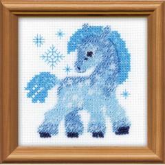 """Набор для вышивки Риолис 1392 """"Ледяная лошадка"""""""