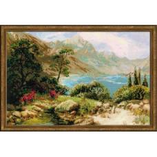 """Набор для вышивки Риолис 1397 """"Горное озеро"""""""