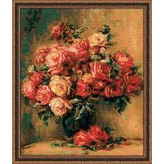 """Набор для вышивки Риолис 1402 """"Букет роз"""""""
