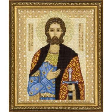 """Набор для вышивки Риолис 1424 """"Святой князь Александр Невский"""""""