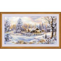 """Набор для вышивки Риолис 1427 """"Зимний вечер"""""""