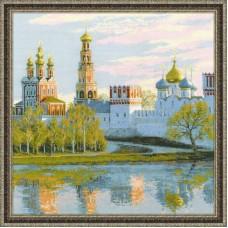 Набор для вышивки Риолис 1430 Москва. Новодевичий монастырь
