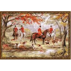 """Набор для вышивки Риолис 1431 """"Охота на лис"""""""