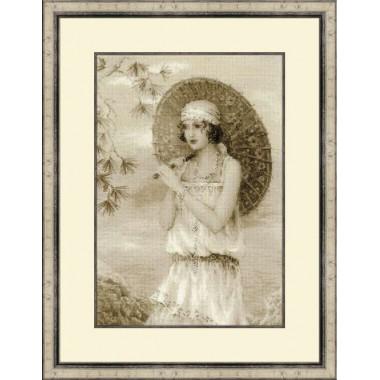 """Набор для вышивки Риолис 1434 """"Старая фотография. Ривьера"""""""