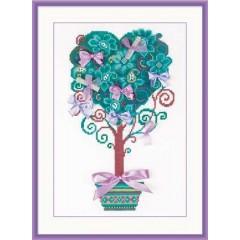 """Набір для вишивання Риолис 1462 """"Дерево бажань"""""""