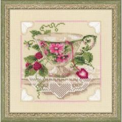 """Набор для вышивки Риолис 1476 """"Малиновый чай"""""""