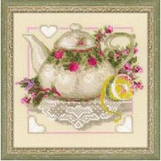 """Набор для вышивки Риолис 1477 """"Чай с лимоном"""""""
