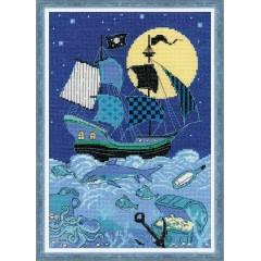 """Набор для вышивки Риолис 1511 """"Пиратский корабль"""""""