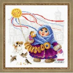 """Набор для вышивания Риолис 1517 """"Масленица. Бублики"""""""