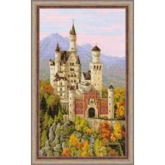 """Набор для вышивки Риолис 1520 """"Нойшванштайн"""""""