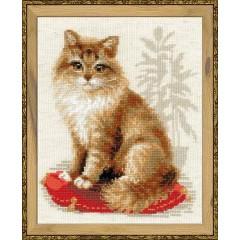 """Набор для вышивки Риолис 1525 """"Кошка домашняя"""""""
