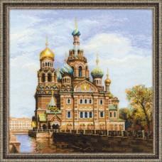 "Набор для вышивки Риолис 1548 ""Санкт-Петербург. Храм Спаса-на-крови"""